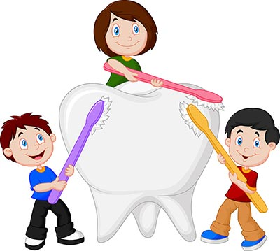 White Fillings pediatric dentist Brooklyn NY